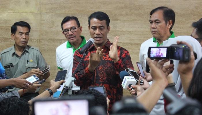 Menteri Pertanian (Mentan) Amran Sulaiman. Foto Richard Andika/ NusantaraNews.co