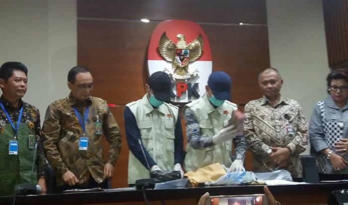 OTT Hakim Tipikor Bengkulu Hasil Informasi dari Tim Survailance MA. Foto: Restu Fadilah/ NusantaraNews.co