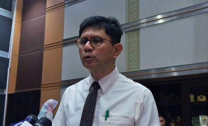 Wakil Ketua Komisi Pemberantasan Korupsi (KPK), Laode Muhammad Syarif. Foto Restu Fadilah/ NusantaraNews.co