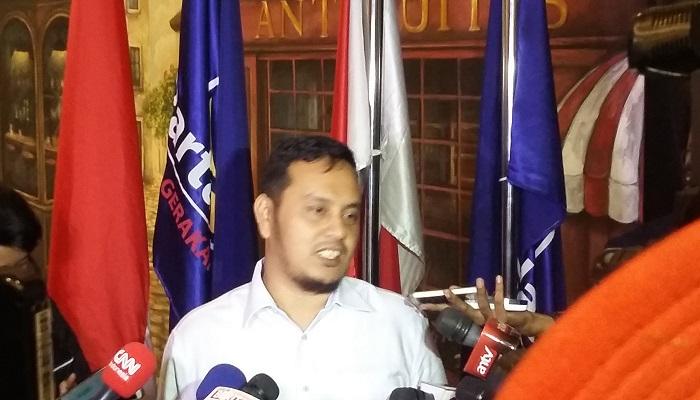 Ketua DPP Nasdem bidang informasi dan komunikasi Willy Adhitya. (Foto: Ucok Al Ayubbi/NusantaraNews)