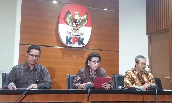 Para Pimpinan KPK. (Foto Restu Fadilah/ Nusantaranews.co)