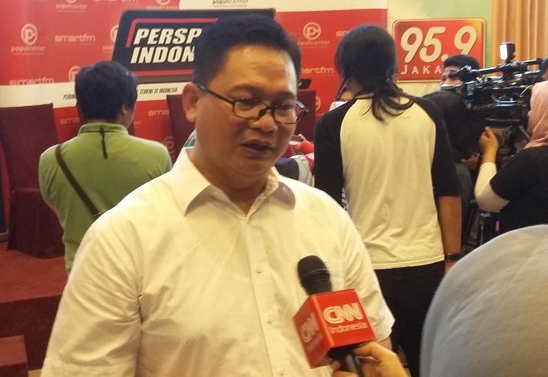 Peneliti Saiful Mujani Research and Consulting (SMRC) Sirajuddin Abbas. Foto Ucok Al Ayubby/ NusantaraNews