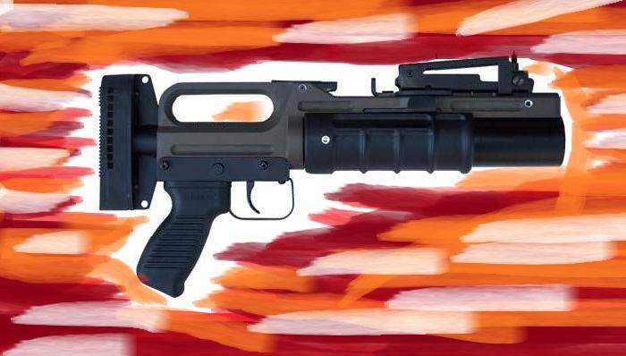 40×46 mm Stand-Alone Grenade Launcher (SAGL). Foto Ilustrasi: NusantaraNews.co