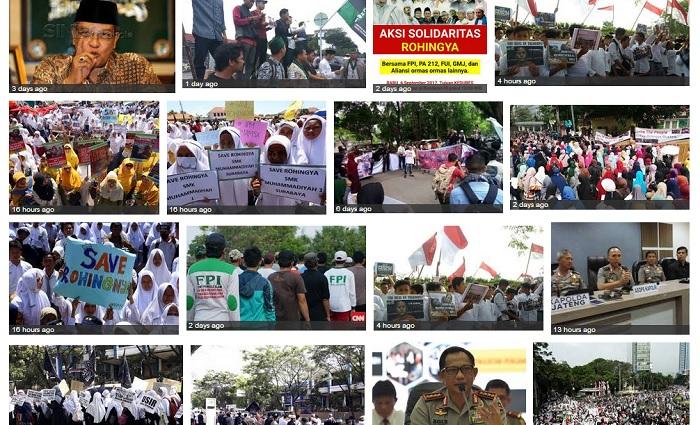 Aksi Solidaritas Rohingya (Ilustrasi). Foto: Crup Google Images/ NusantaraNews.co