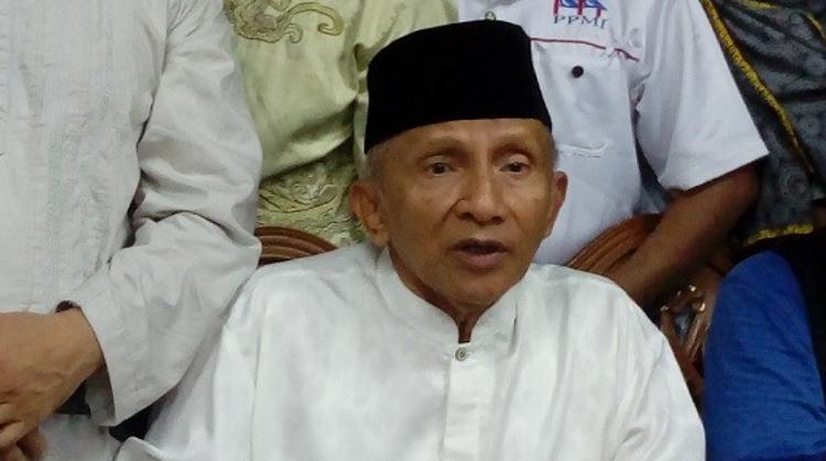 Amien Rais (Foto: Andika/Nusantaranews)