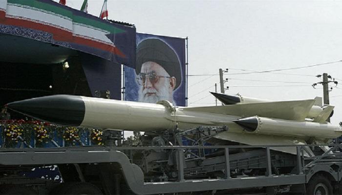 Misil Pasukan Angkatan Laut Iran. (Getty Images)