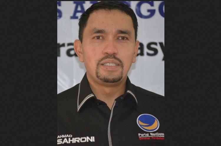 Anggota Panitia Pansus Ahmad Sahroni/Foto Crop/Nusantaranews