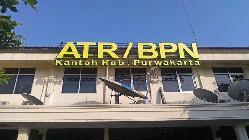 Kantor Badan Pertanahan Nasional (BPN) Purwakarta. (Foto: Istimewa)