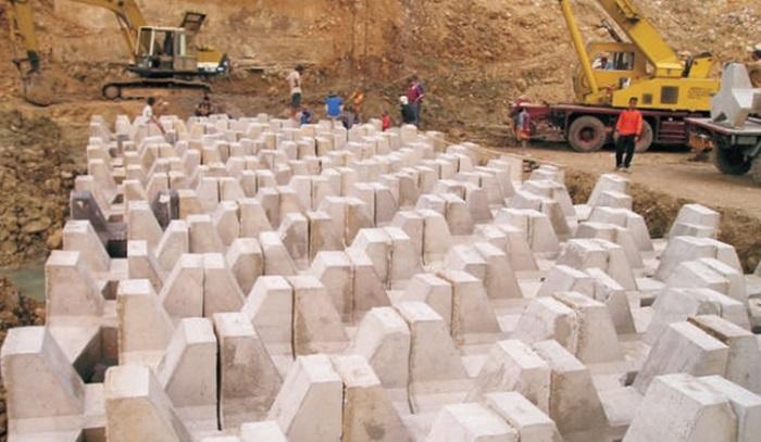 Teknologi Blok Beton terkunci (untuk sungai) Inovasi Balitbang KemenPUPR. Foto: Dok. Balitbang KemenPUPR
