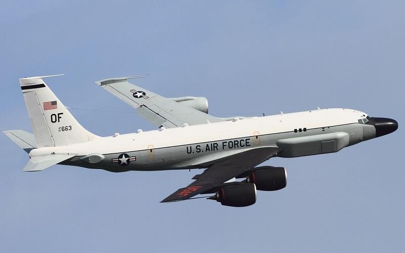 Pesawat pengumpul data intelijen (intelligence-gathering) Amerika Serikat, Cobra Ball. (Foto: Kadena/DNA/RODN)
