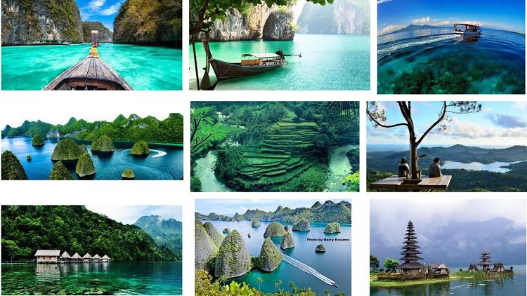 Destinasi Wisata di Indonesia/Croup/Nusantaranews