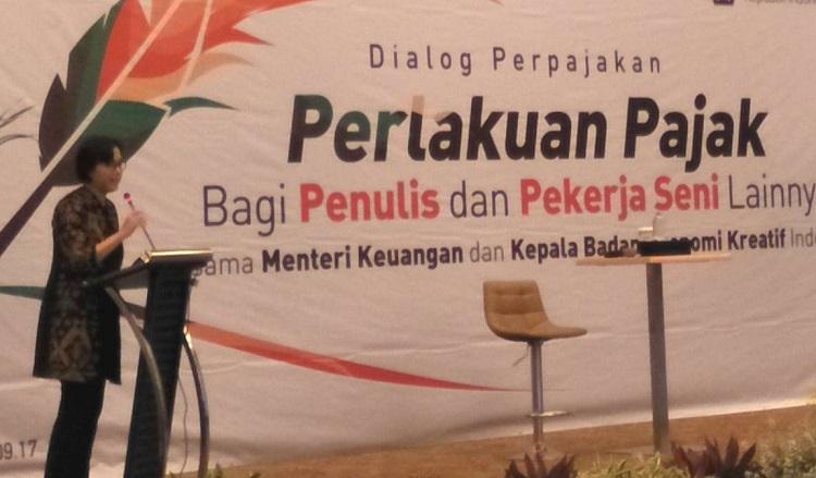 Dialog perpajakan bagi penulis dan seniman/Foto dok Viva/Nusantaranews