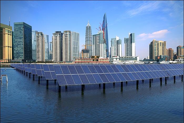 Energi baru terbarukan. (Foto via waterandenergy/Nusantaranews)