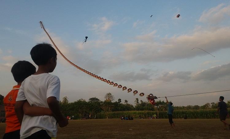Festival Layang-Layang Ponorogo/Foto Nucholis/Nusantaranews