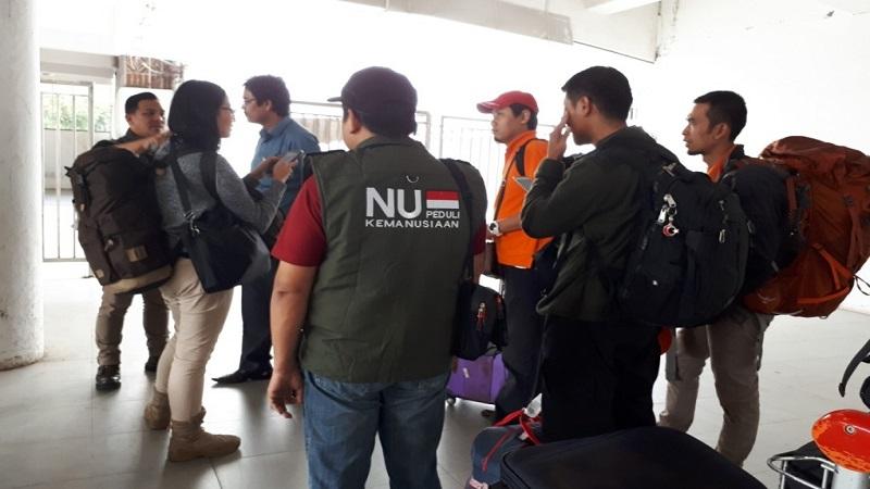 Tim Kemanusiaan NU dan Aliansi Kemanusiaan Indonesia untuk Myanmar (AKIM) bertolak ke Bangladesh untuk memberikan bantuan kemanusiaan kepada pengungsi Rohingya. (Foto: Istimewa)