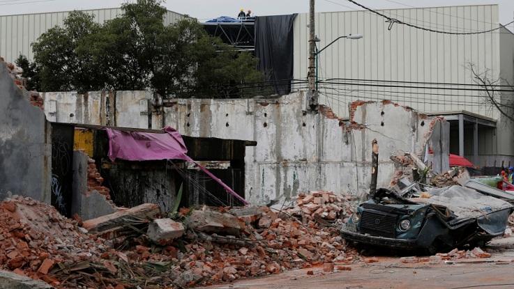 Gempa Meksiko/Foto Dok. Reuters/Nusantaranews
