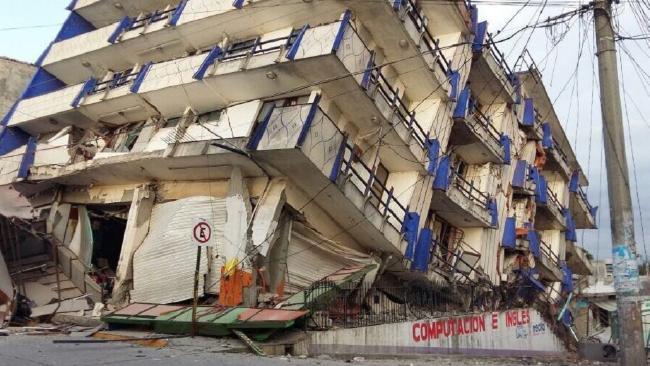 Gempa Meksiko/Foto newsapi/Nusantaranews