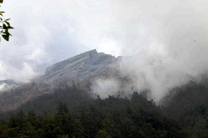 Gunung Agung/Foto via Balipost/Nusantaranews