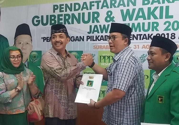 Gus Syaf kembalikan Formulis ke PPP/Foto Tri Wahyudi/Nusantaranews