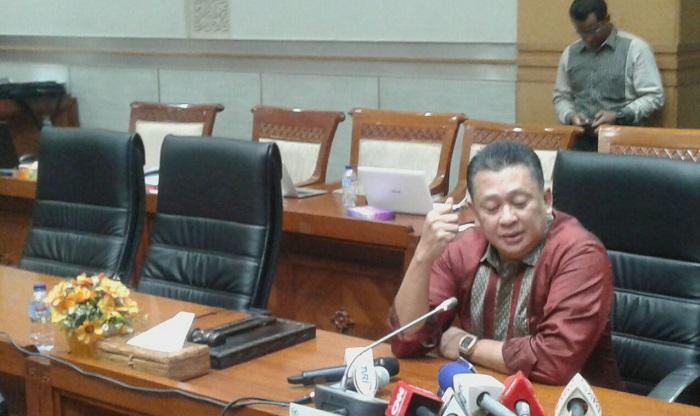 Ketua Komisi III Bambang Soesatyo. Foto Ucok Al Ayubbi/ NusantaraNews.co