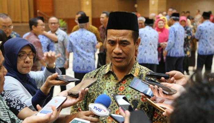 Menteri Pertanian Andi Amran Sulaiman. Foto Richard Andika/ NusantaraNews.co