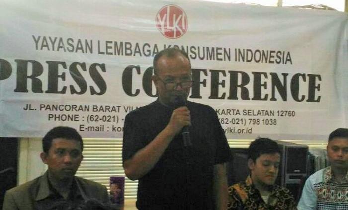 Ketua Pengurus Harian YLKI Tulus Abadi. Foto Richard Andika/ NusantaraNews