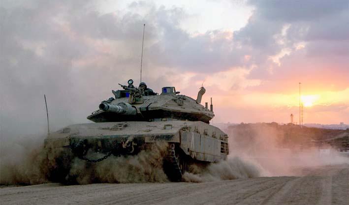 Latihan Perang Israel/AFP 2017/Jack Guez