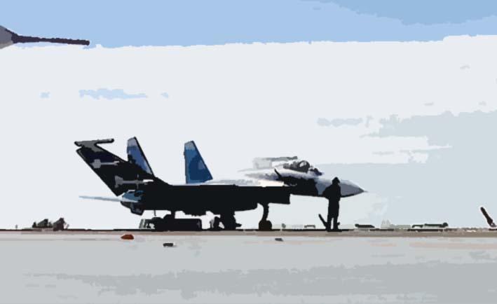 Russian Su-35 Flanker-E multirole fighters. (Foto: JSC Sukhoi Company)