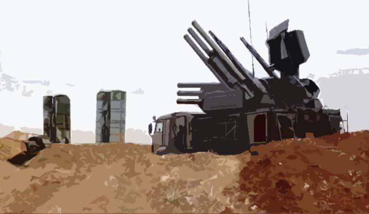 Sistem Pertahanan Terpadu Suriah atau S-400 Suriah. (Foto: Ilustrasi NusantaraNews)