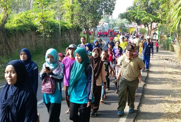 Jalan Sehat Sambut HUT TNI ke-72/Foto Dok. Pribadi/Nusantaranews