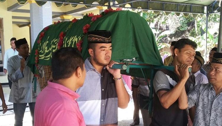Jenazah Pahlawan Devisa asal Ponorogo/Foto Nur/Nusantaranews