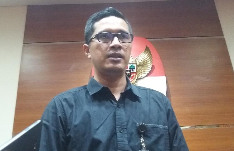 Jubir KPK Febri Diansyah/Foto Restu Fadilah/Nusantaranews