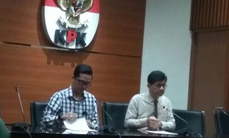 KPK tetapkan tersangka baru. (Foto Restu Fadilah/Nusantaranews)