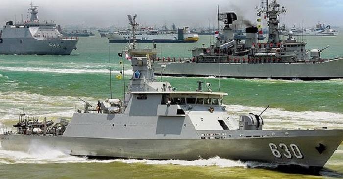 Kapal Perang Republik Indonesia (KRI) Halasan-630. Foto: Dok. Kekuatan Perang