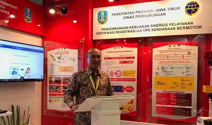 Kadishub Jatim, Wahid Wahyudi. Foto Tri Wahyudi/ NusantaraNews.co