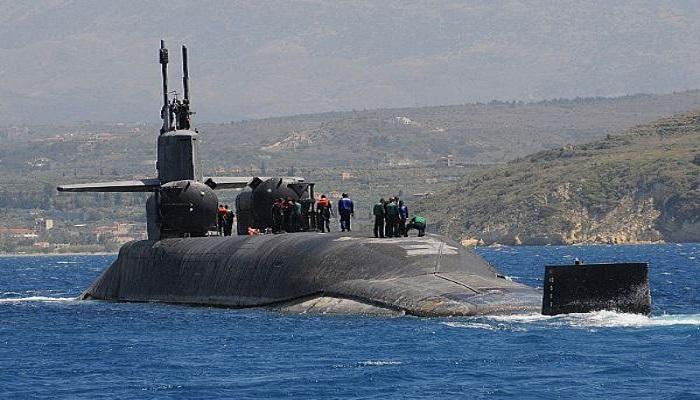 Kapal selam rudal kelas menengah Ohio USS Florida. (Foto: U.S Navy)