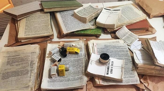 Karya Sastra ilega yang beredar di Soviet. Foto: Dok. RBTH