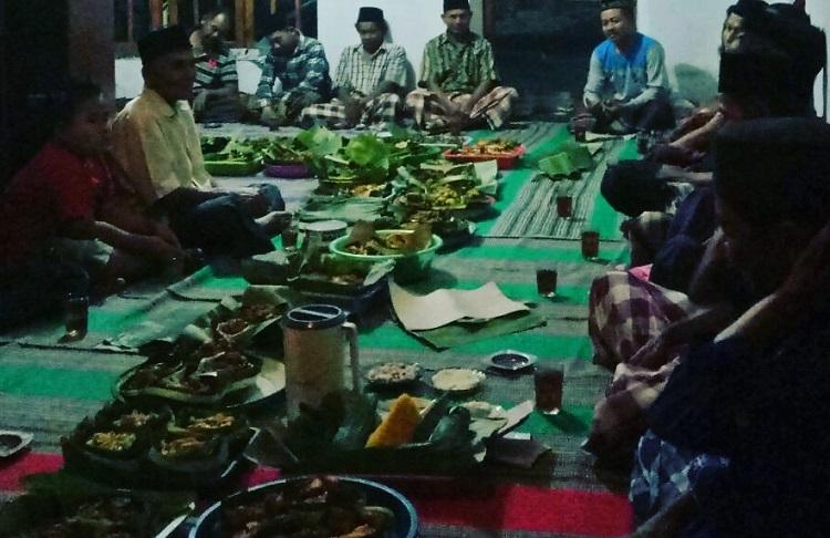 Kenduri Mapak Tanggal tradisi sambut bulan Suro/Foto Nurcholis/Nusantaranews