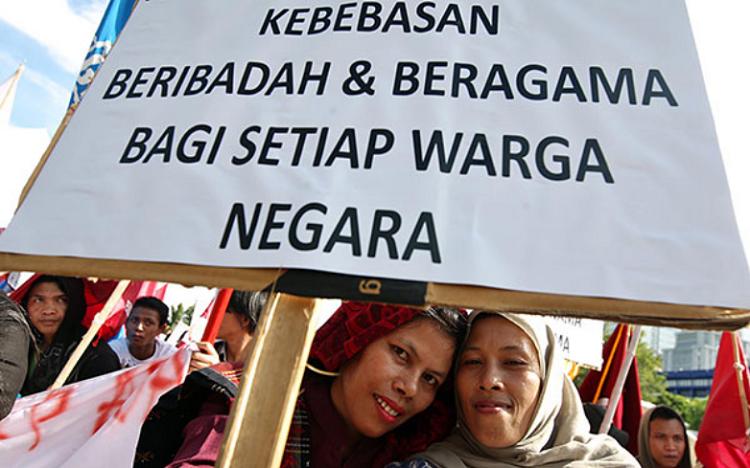 Kerukunan Beragama/Foto Ilustrasi/Net/Nusantaranews