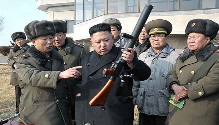 Kim Jong Un inspeksi senjata