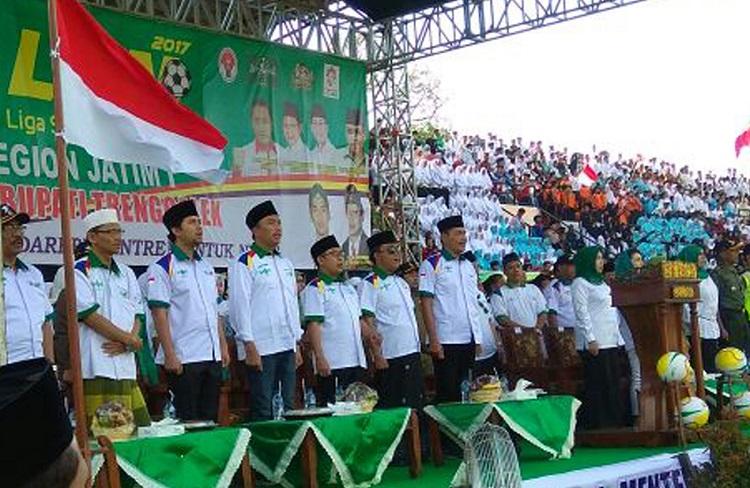 Kungker Menpora Imam Nahrawi ke Trenggalek/Foto Dok. Pribadi/Nusantaranews