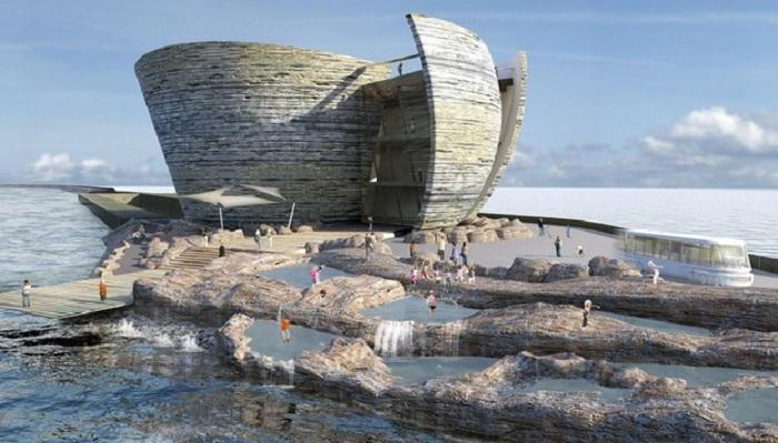 Pembangunan Pembangkit Listrik Tenaga Laguna Pertama di Inggris Akan Dibangun Di Cardiff. (Foto: The Telegraph)