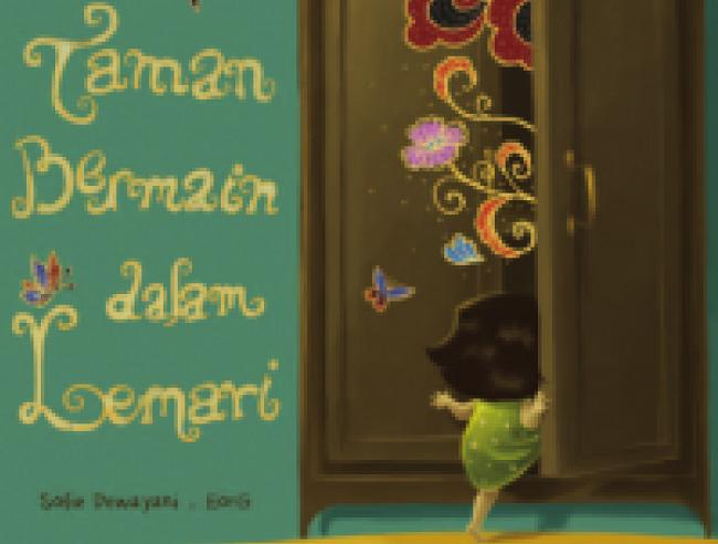 Cover buku Taman Bermain Dalam Lemari (A Playground in My Wardrobe). Foto Istimewa