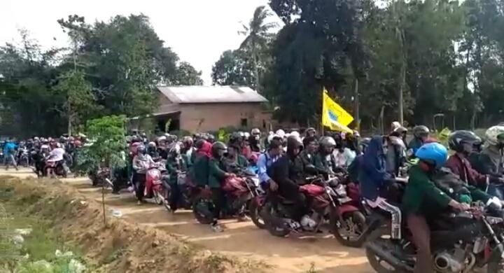 MAPABA PMII Raden Intan Lampung/Foto Echa/Nusantaranews