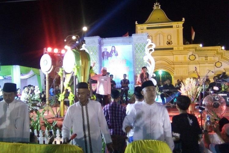 Malam Takbir di Sumenep/Foto Mahdi/Nusantaranews