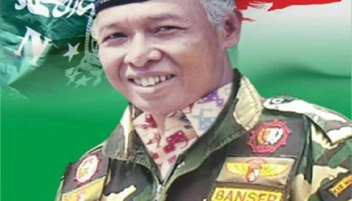 Mantan Kasatkornas Banser Periode 1997-2000, Muhammad Asrofudin Budianto (Mbah Wongso) wafat pada Kamis, 31 Agustus 2017. (Foto: NU.OR.ID/Istimewa)