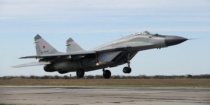 Jet Tempur MiG-29 Rusia. (Foto: Sputnik/Sergey Pivovarov)