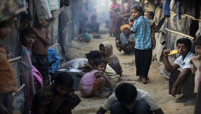 Kamp pengungsian Rohingya di Cox's Bazar, Bangladesh. (Foto: UNHCR/Saiful Huq Omi)