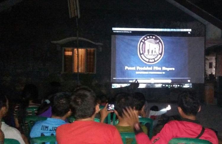 Nobar Film PKI di Jember/Foto Sis/Nusantaranews