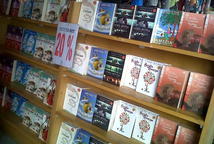 Novel-Novel Karangan Tere Liye/Foto Istimewa/Net/Nusantaranews